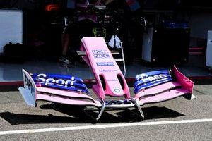 Voorvleugel van de Racing Point RP19