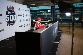 Ed Jones, Ed Carpenter Racing Scuderia Corsa Chevrolet, conferencia de prensa