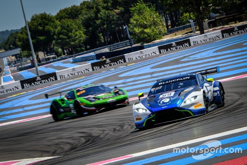 #59 Garage 59 Aston Martin Vantage AMR GT3: Côme Ledogar, Jonny Adam, Andrew Watson