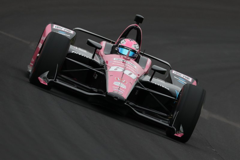 #60 Jack Harvey, AutoNation / SiriusXM, Meyer Shank Racing/Schmidt Peterson Motorsports Honda