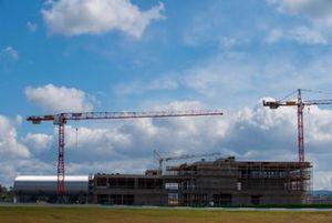 Building site, Porsche Experience Center
