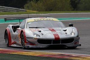 #54 Spirit of Ferrari 488 GTE: Thomas Flohr, Francesco Castellacci, Giancarlo Fisichella