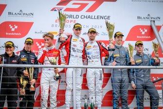 Podium #89 Akka ASP Team Mercedes-AMG GT3: Nico Bastian, Thomas Neubauer