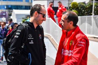 Robert Kubica, Williams Racing and Marc Gene, Ferrari