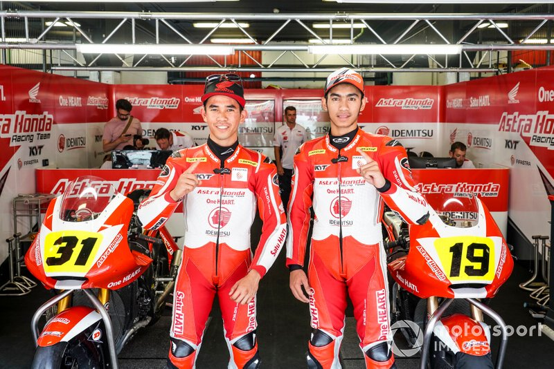 Gerry Salim and Andi Gilang, Astra Honda Racing Team