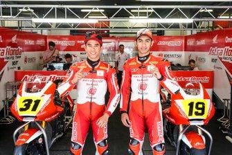 Gerry Salim and Andi Gilang, Astra Honda Racing Team