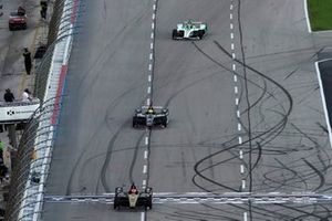 James Hinchcliffe, Arrow Schmidt Peterson Motorsports Honda, Spencer Pigot, Ed Carpenter Racing Chevrolet