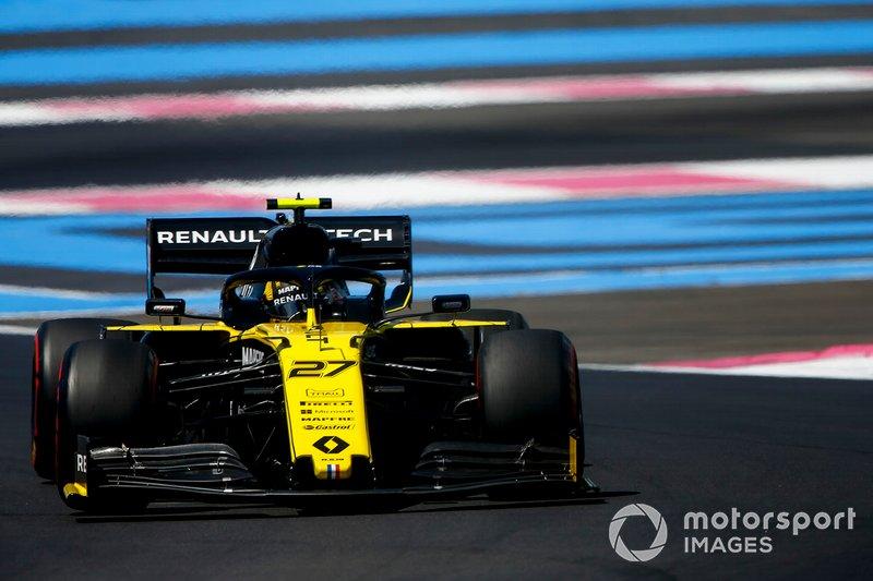 Хюлькенберг раздражается просьбой Renault сменить положение переключателя на руле