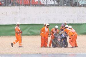 La caduta di Alex Lowes, Pata Yamaha