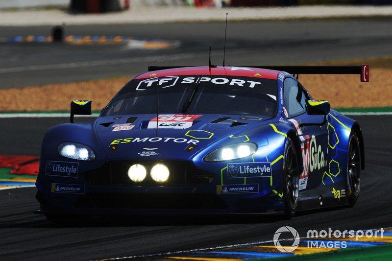 GTE-Am: #90 TF Sport, Aston Martin Vantage