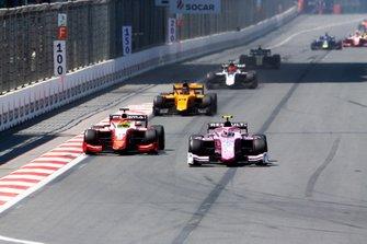 Mick Schumacher, PREMA RACING and Anthoine Hubert, BWT ARDEN