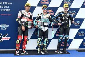 Tatsuki Suzuki, SIC58 Squadra Corse, Lorenzo Dalla Porta, Leopard Racing, Celestino Vietti, Sky Racing Team VR46