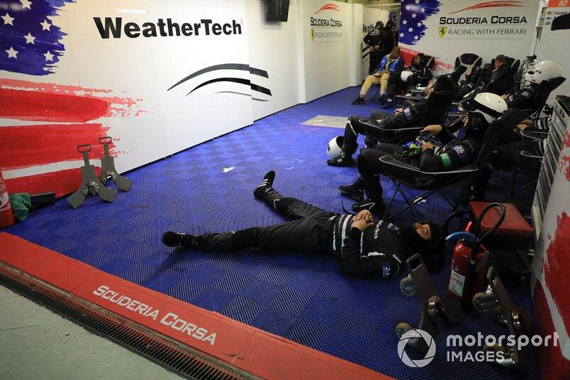 Weathertech Racing garage atmosphere