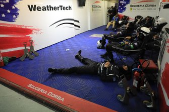 Weathertech Racing atmosfera in garage