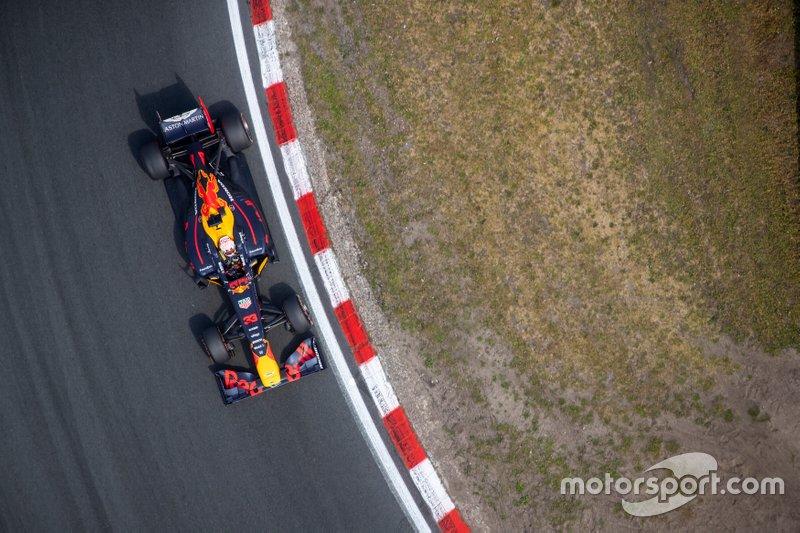 Max Verstappen, Red Bull Racing RB7, à Zandvoort