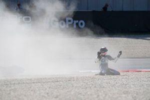 Sturz: Gabriel Rodrigo, Gresini Racing
