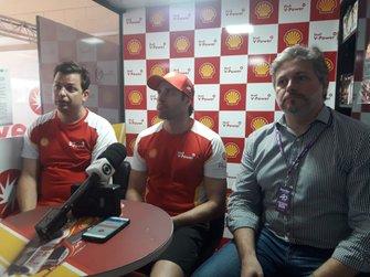 Thiago Meneghel, Ricardo Zonta e Felipe Borges