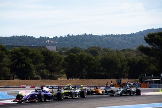 Devlin DeFrancesco, Trident and Felipe Drugovich, Carlin Buzz Racing