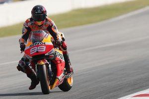 Jorge Lorenzo, Repsol Honda Team, au freinage