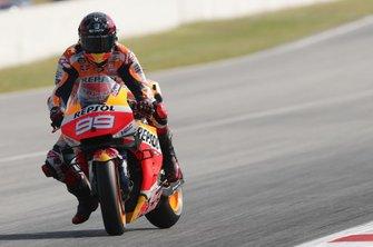 Jorge Lorenzo, Repsol Honda Team breaking