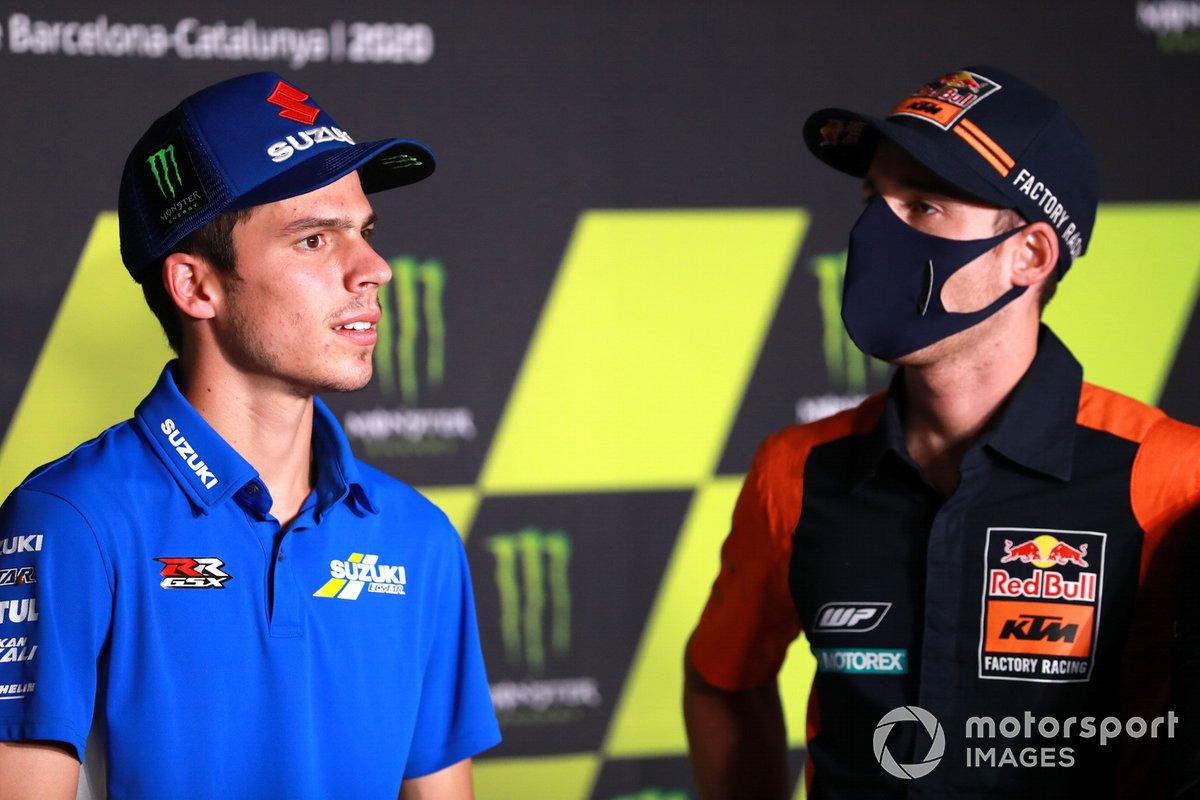 Joan Mir, Team Suzuki MotoGP Pol Espargaro, Red Bull KTM Factory Racing