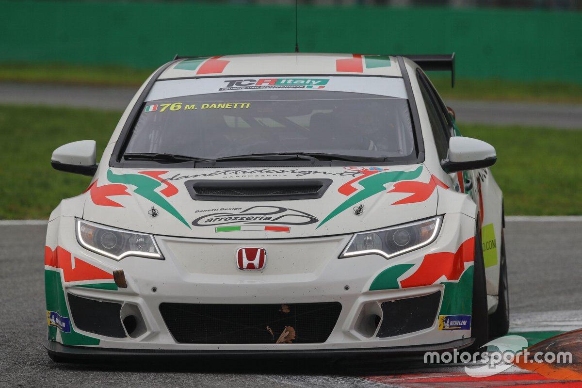 Massimiliano Danetti, B.D. Racing, Honda Civic TCR