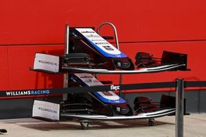 Spare noses for the Williams FW 43