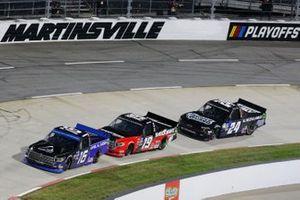 #16: Austin Hill, Hattori Racing Enterprises, Toyota Tundra AISIN Group #19: Derek Kraus, McAnally Hilgemann Racing, Toyota Tundra SHOCKWAVE/ENEOS