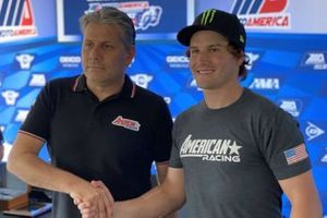 Cameron Beaubier and Eitan Butbul, American Racing team owner