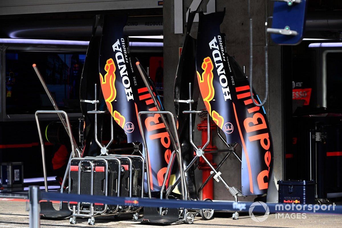 Detalle técnico del Red Bull