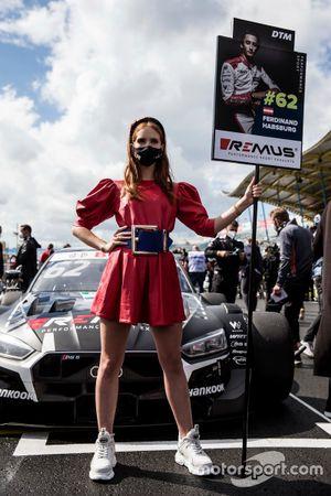 Grid girl of Ferdinand Habsburg, Audi Sport Team WRT