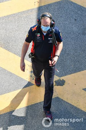 Paul Monaghan, ingénieur en chef, Red Bull Racing