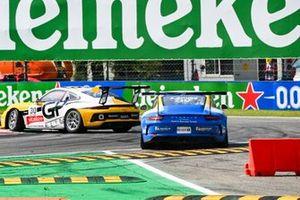 Lucas Groeneveld, Team GP Elite, leads Stefano Gatusso, Ombra Racing