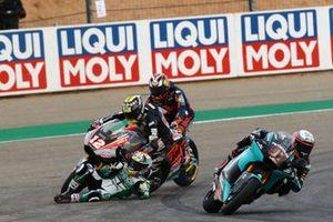 Thomas Luthi, Intact GP and Kasma Daniel, SAG Racing Team, incidente