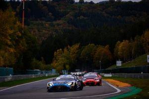 #88 Mercedes-AMG Team AKKA ASP Mercedes-AMG GT3: Raffaele Marciello, Timur Boguslavskiy, Felipe Fraga, #31 Audi Sport Team WRT Audi R8 LMS GT3: Christopher Mies, Kelvin van der Linde, Dries Vanthoor