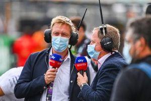 Martin Brundle, Sky TV y Simon Lazenby, Sky TV