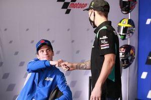 Joan Mir, Team Suzuki MotoGP, Fabio Quartararo, Petronas Yamaha SRT