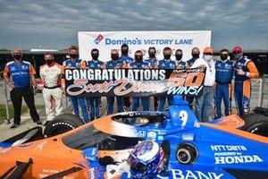 Scott Dixon, Chip Ganassi Racing Honda makes it to the 50th win