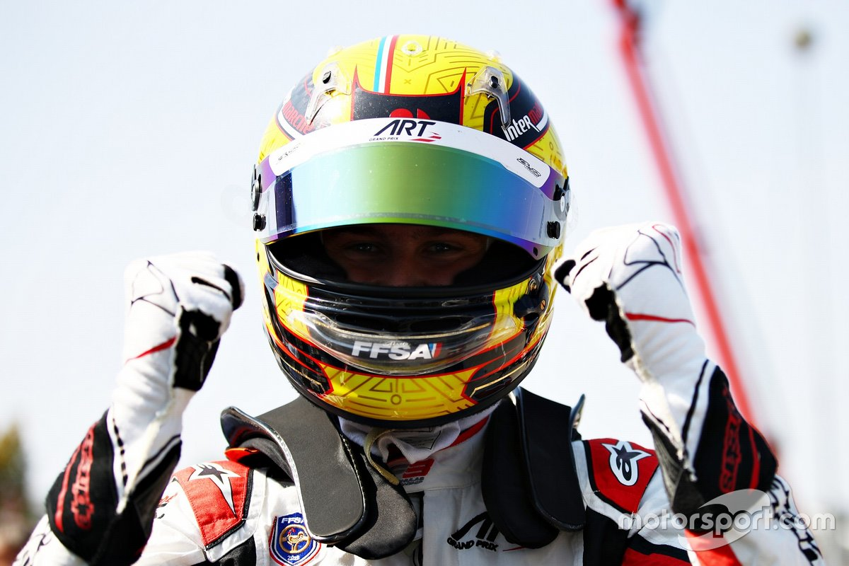Pole sitter Theo Pourchaire, ART Grand Prix