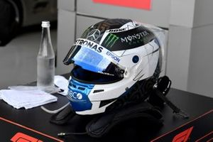 The helmet of Valtteri Bottas, Mercedes-AMG F1