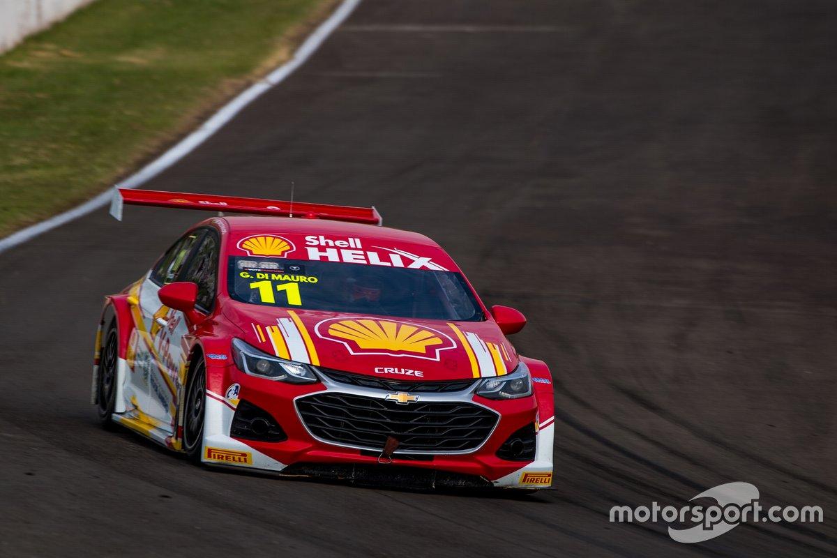 Gaetano di Mauro no treino classificatório para a etapa de Londrina da Stock Car