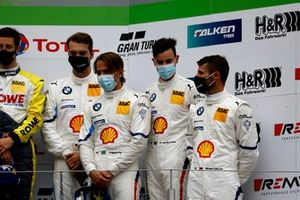 Podio: terzo posto #42 BMW Team Schnitzer BMW M6 GT3: Augusto Farfus, Jens Klingmann, Martin Tomczyk, Sheldon van der Linde