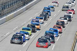 Raphael Lessard, Kyle Busch Motorsports, Toyota Tundra Canac Derek Kraus, McAnally Hilgemann Racing, Toyota Tundra SHOCKWAVE/ENEOS