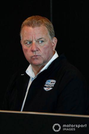 Indycar engine supply agreement meeting: Jay Frye