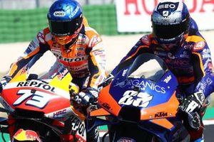 Alex Marquez, Repsol Honda Team, Miguel Oliveira, Red Bull KTM Tech 3