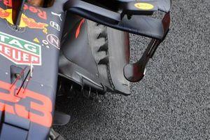 Red Bull Racing RB16, dettaglio del fondo