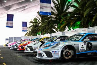 Fahrerlager des Porsche-Supercup