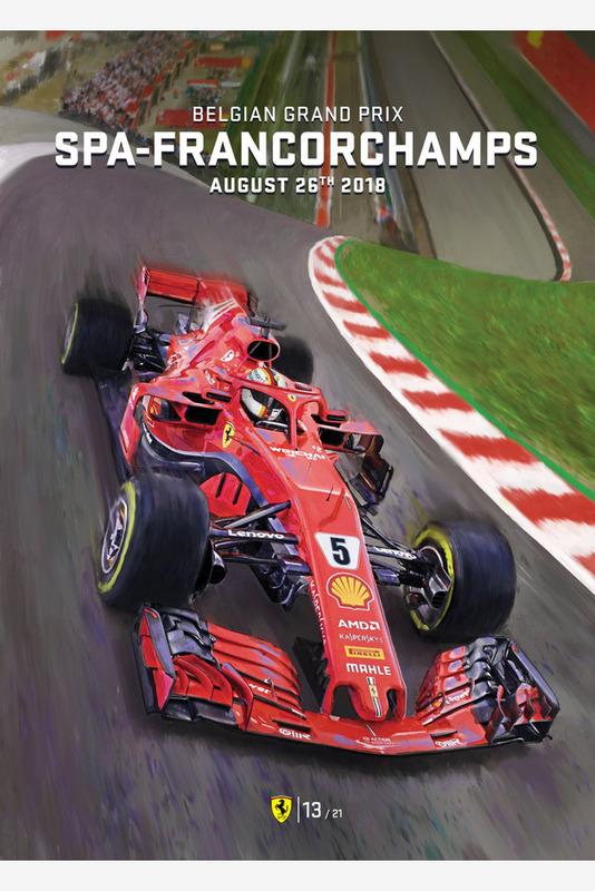 Постер Гран При Бельгии