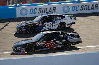 Ty Majeski, Roush Fenway Racing, Ford Mustang Ford and J.J. Yeley, RSS Racing, Chevrolet Camaro RSS Racing