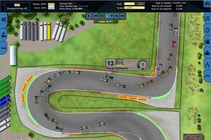 Screenshot Grand Prix Racing Online